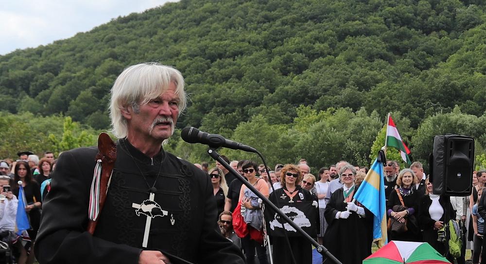 Dr. Papp Lajos nagy erejű beszéde Trianon 100. évfordulóján